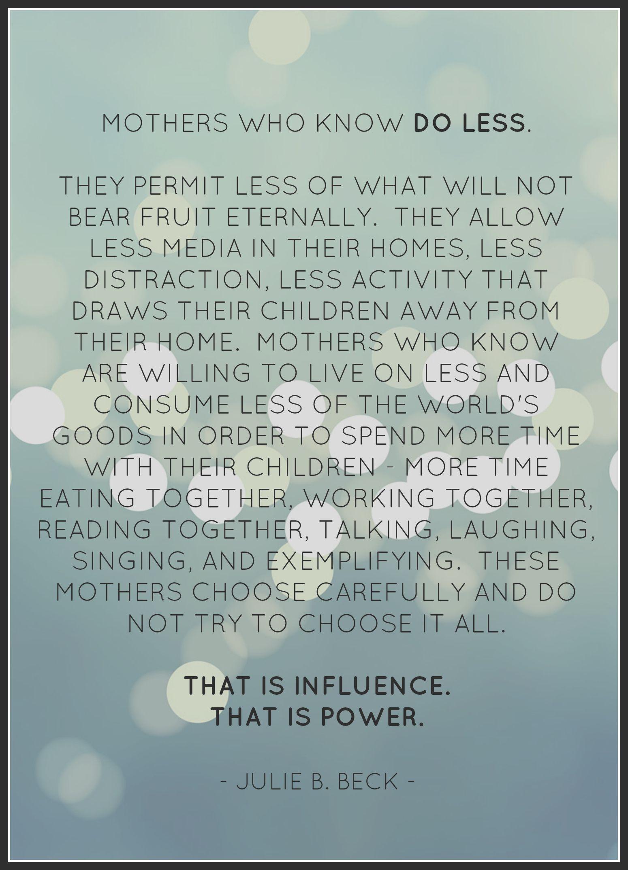 Time to do less | Children & FAITH | Pinterest | Parents ...