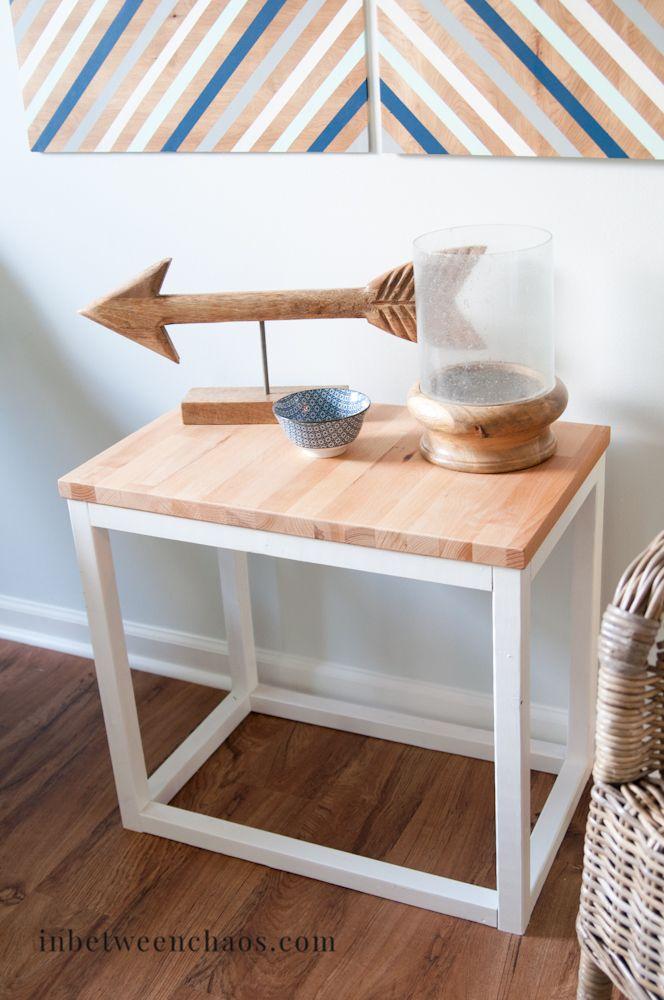 Butcherblock Coffee Table Based On Ana White Planes   U003e How To Build Plans .