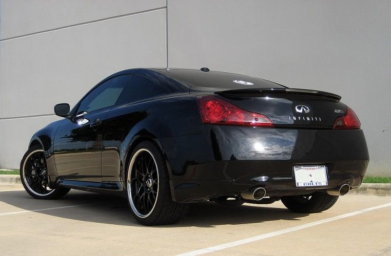 Modified 2008 Infiniti G37 S Sport Coupe Custom Black Picture 3