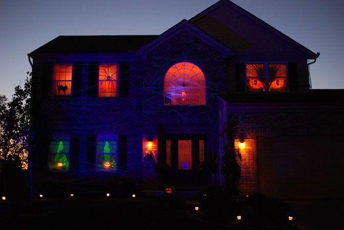the lighting designs of jonathan m fuchs halloween lighting - Halloween Lighting