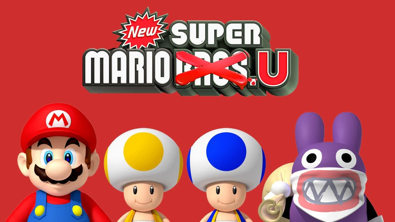 New Super Luigi U with Mario and more Mario, Super mario