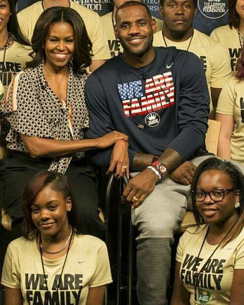 Michelle Obama Collaborates With James LeBron To Promote Voting in US Elections 2020