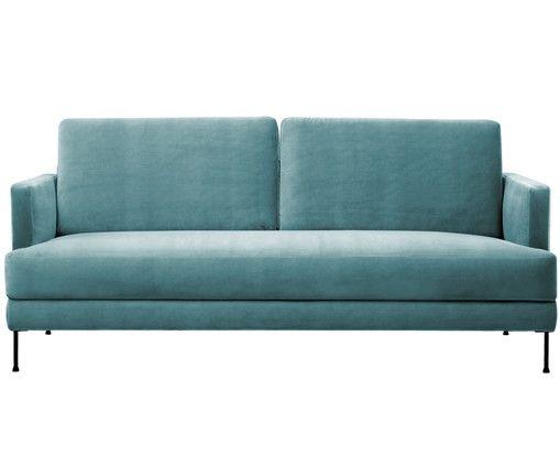 Samt-Sofa Fluente (3,5-Sitzer) Budgeting and Interiors