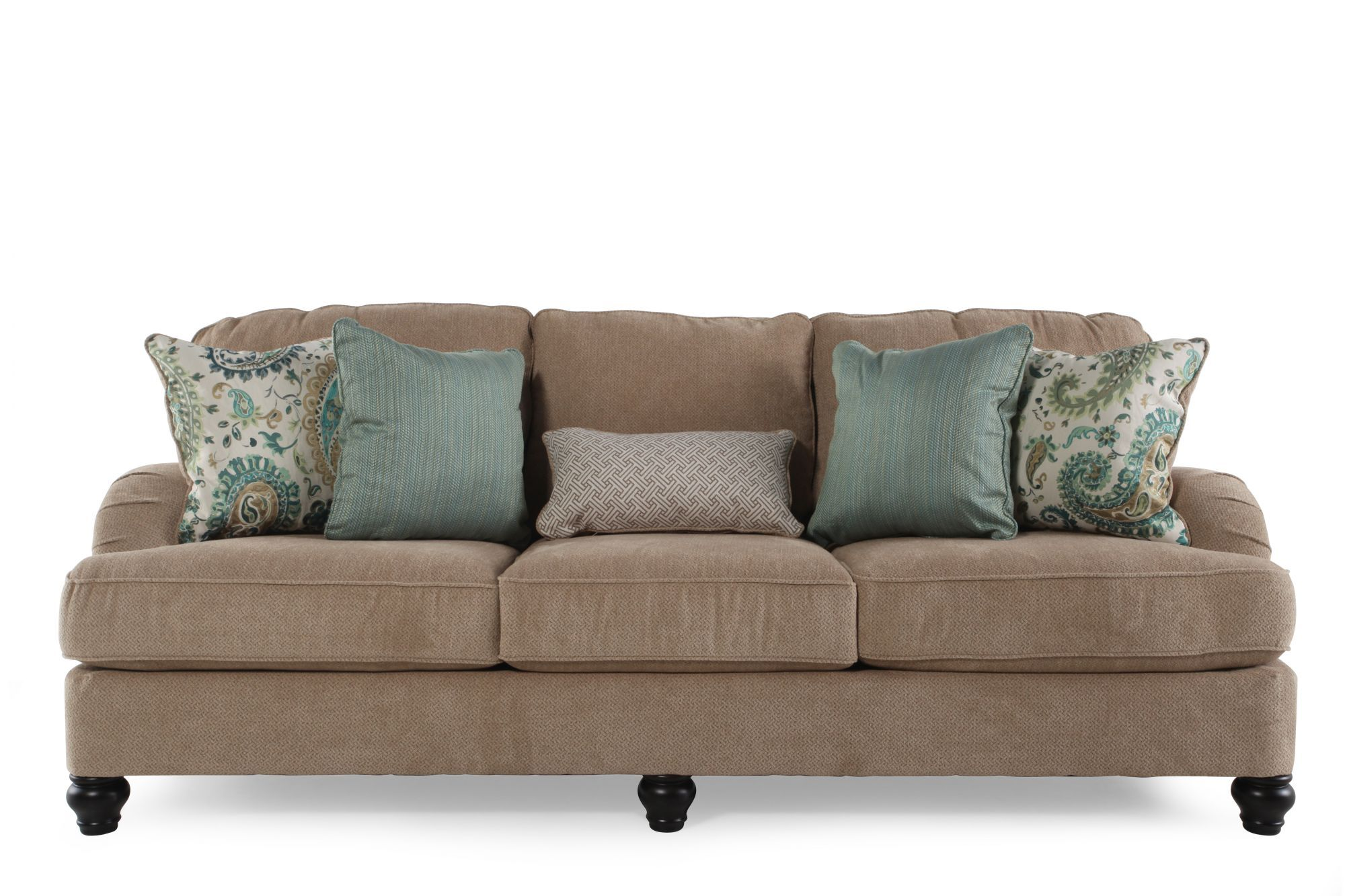 Super Ashley Lochian Bisque Sofa Mathis Brothers Furniture Alphanode Cool Chair Designs And Ideas Alphanodeonline