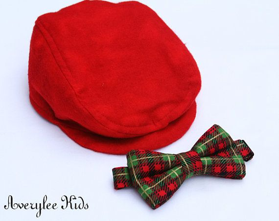 Boys Bow Tie, Christmas Plaid, Baby, Toddler, Christmas Outfit ...