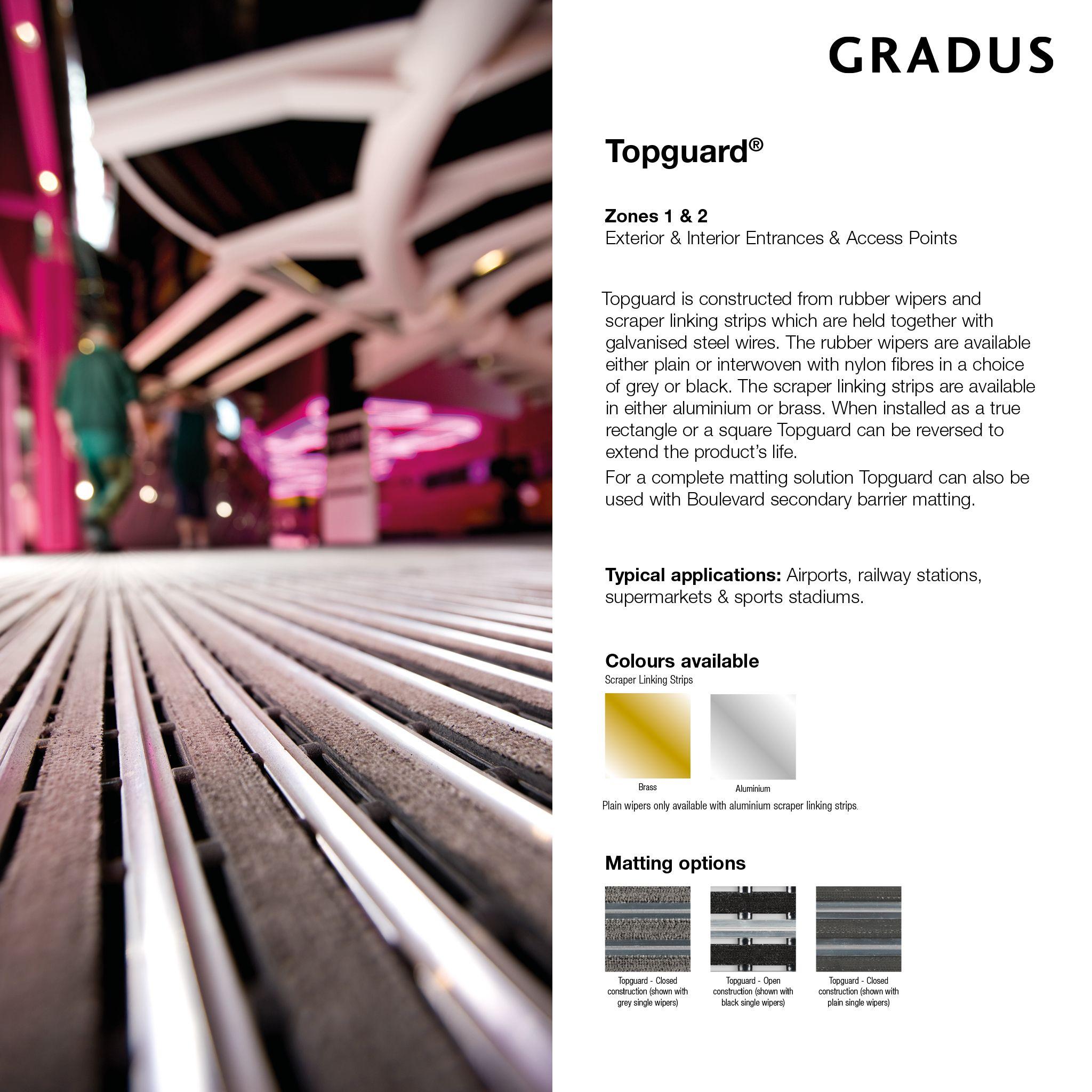 Pin on Gradus Barrier Matting System