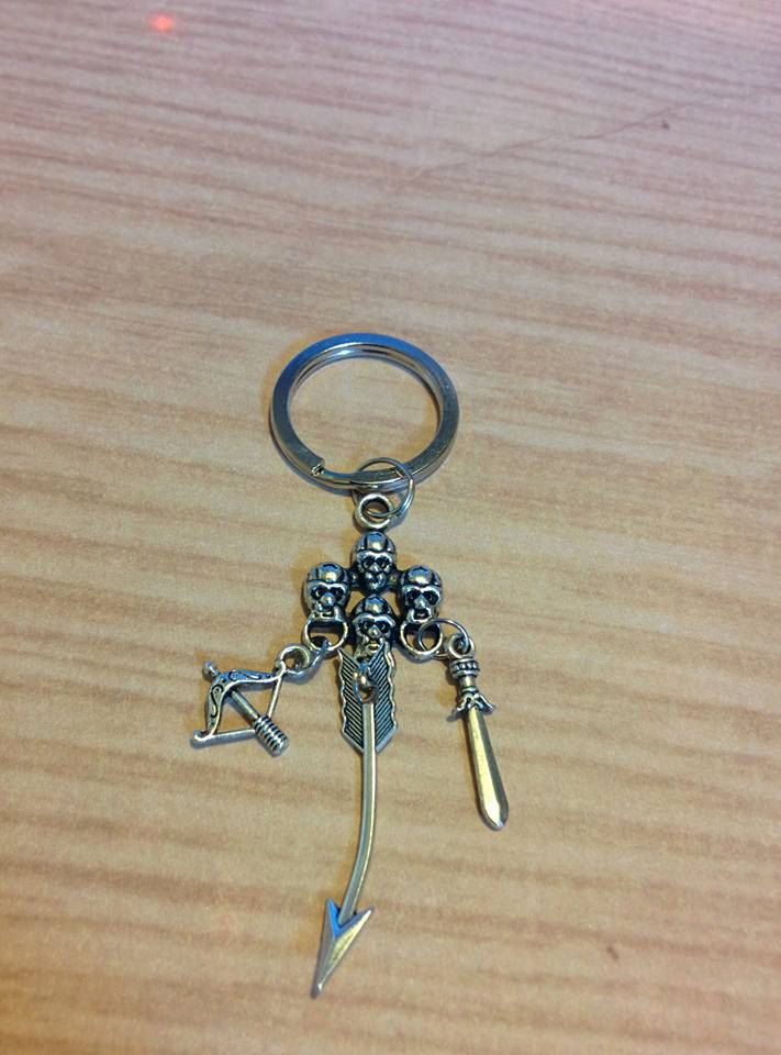 The Walking Dead Key Chain - key ring - daryl dixon - cosplay - fandom - home…