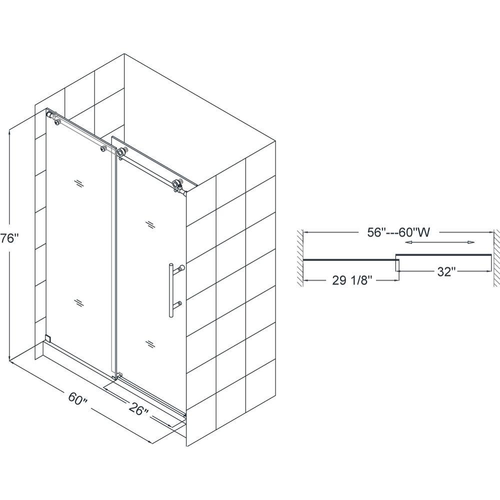 Standard Shower Door Measurements