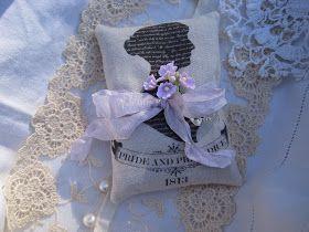 "Heartfelt Vintage Home: A Thoughtful Heartfelt Gift - ""Scentimental"" Lavender Gift Sachets"
