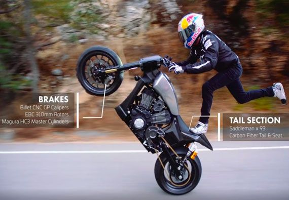 Video Of Stunt Rider Aaron Colton On Ebc Brakes Equipped 93
