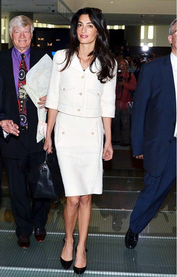 15ef6c055556 Before She Was Mrs. Clooney: Amal Alamuddin's Style Transformation ...