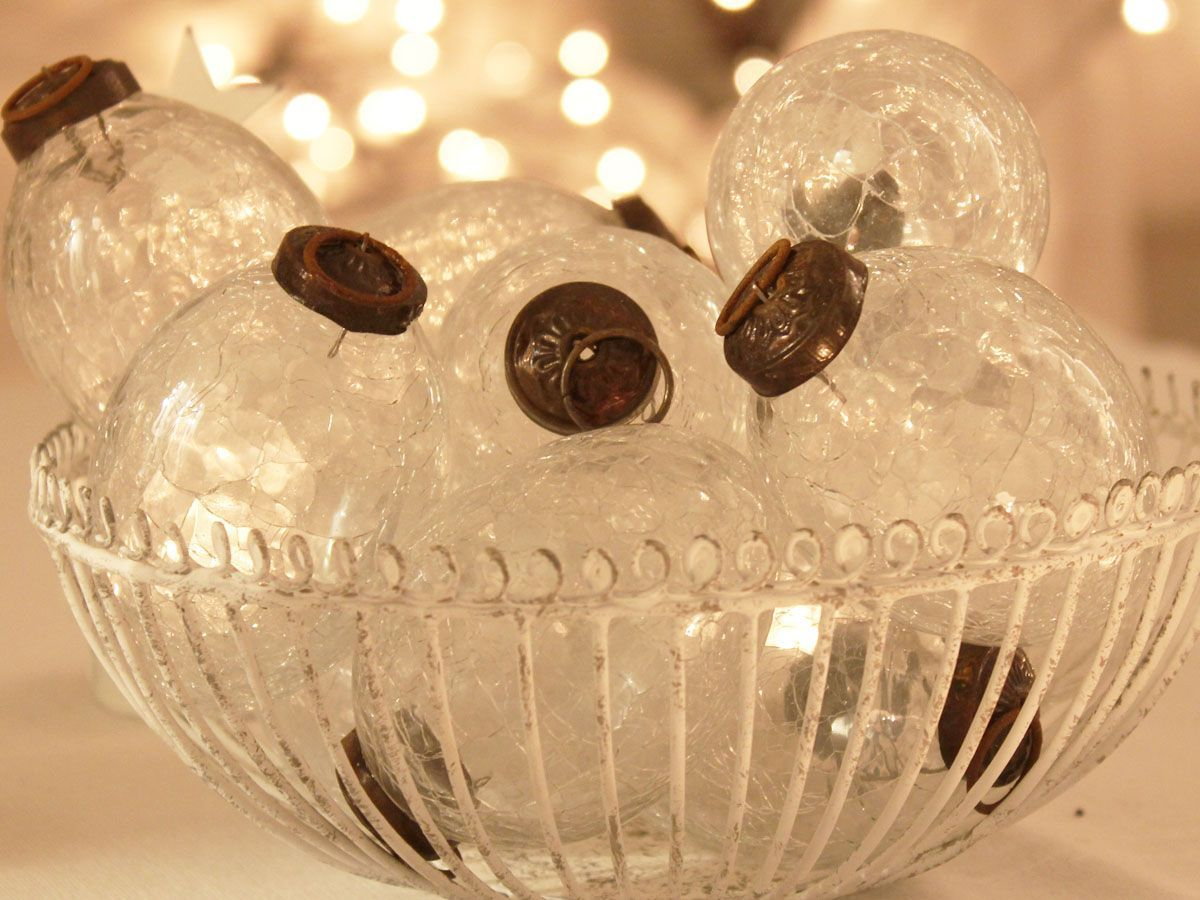 Hutton and Hutton :: clear crackled baubles £2.95 www ...