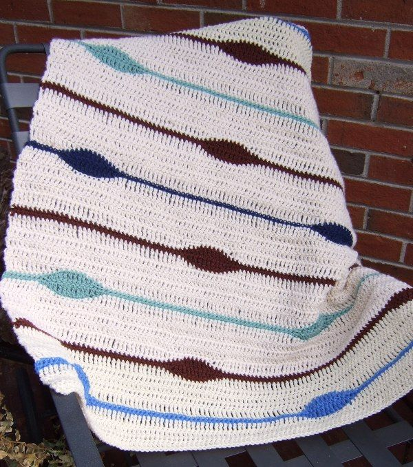 The Blanket Has Eyes - Afghans Crocheted My Patterns - - Mama\'s ...