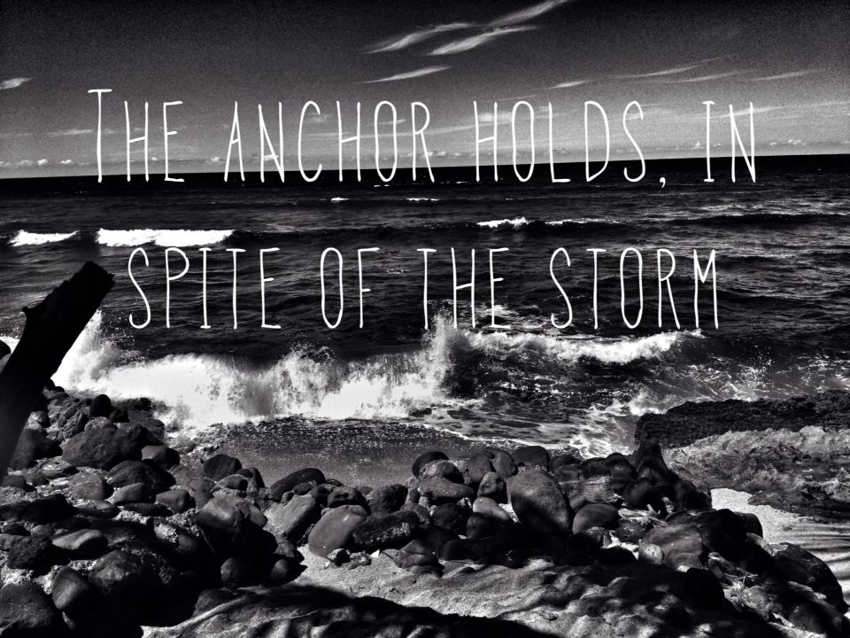 In Spite of the Storm: My Soul is Anchored in The Lord