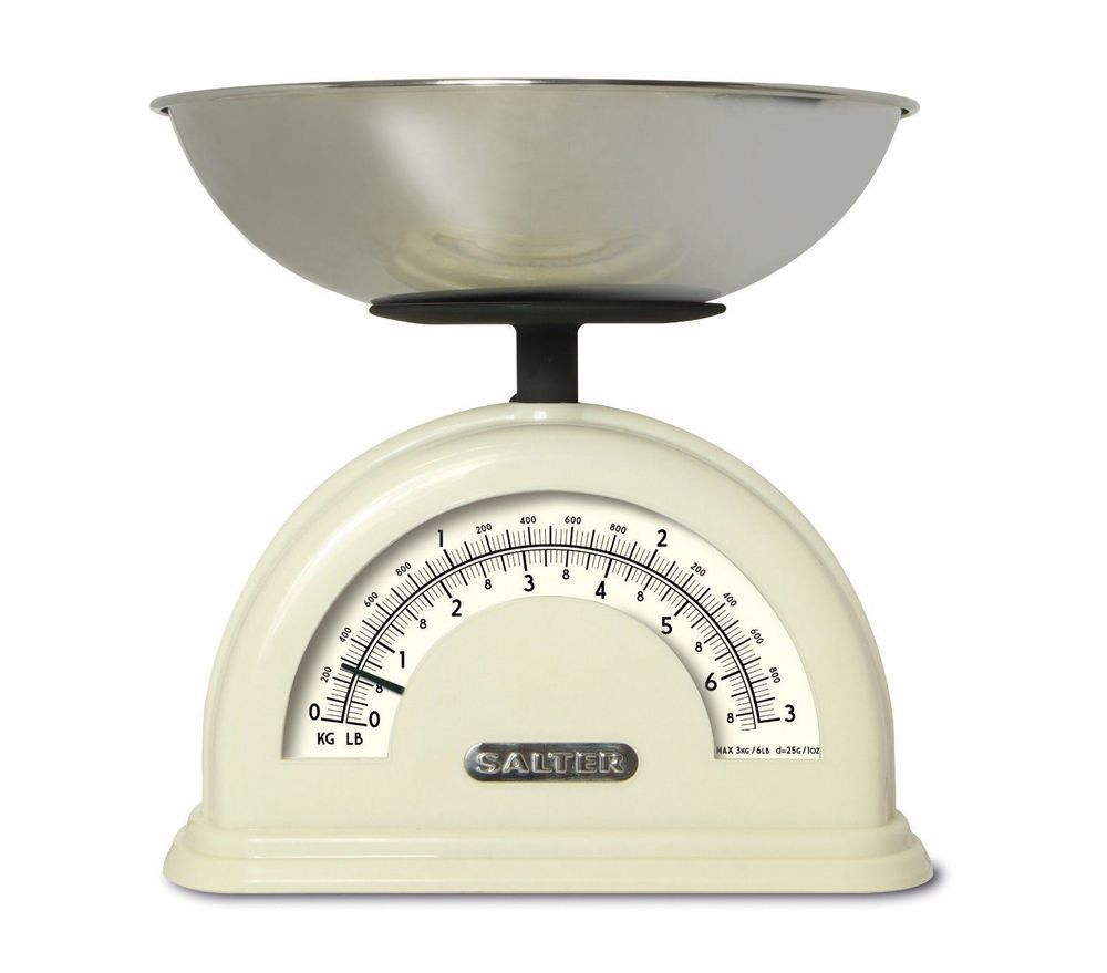 Salter Vintage Retro Style Mechanical Kitchen Food Kg Lb Scale