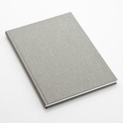 Jag behöver en ny labbok! Den gamla invigde jag 2005, så hållbarheten bör vara minst 8-9 år. Skrivbok A4 Ljusgr