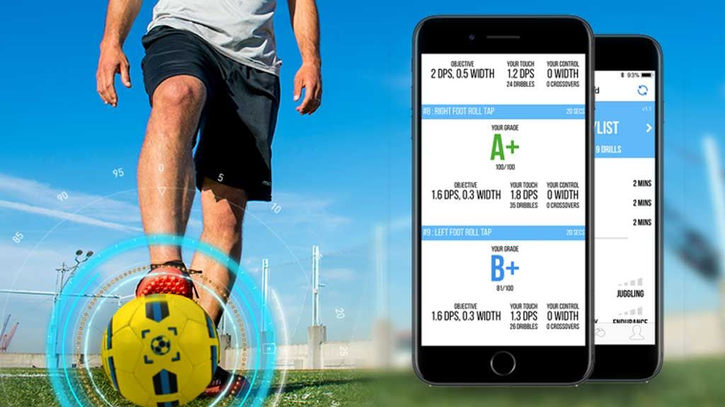 Dribbleup App Connected Soccer Ball Soccer Ball Smart Soccer
