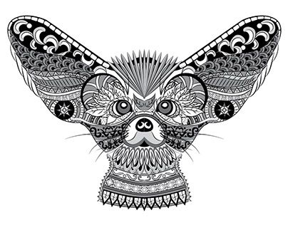 Pin By Elain Chong On Art In 60 Pinterest New Work Animals Stunning Patterned Animals