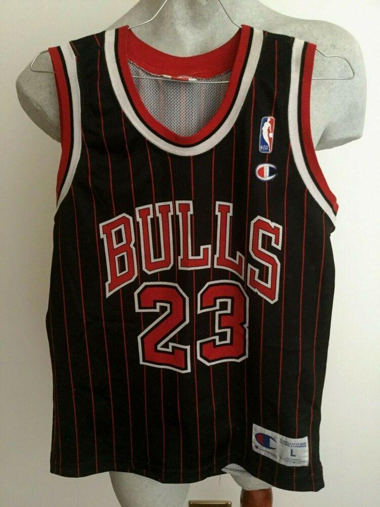 check out e55d7 fc488 MAGLIA BASKET CHAMPION NBA CHICAGO BULLS JORDAN 23# SHIRT ...