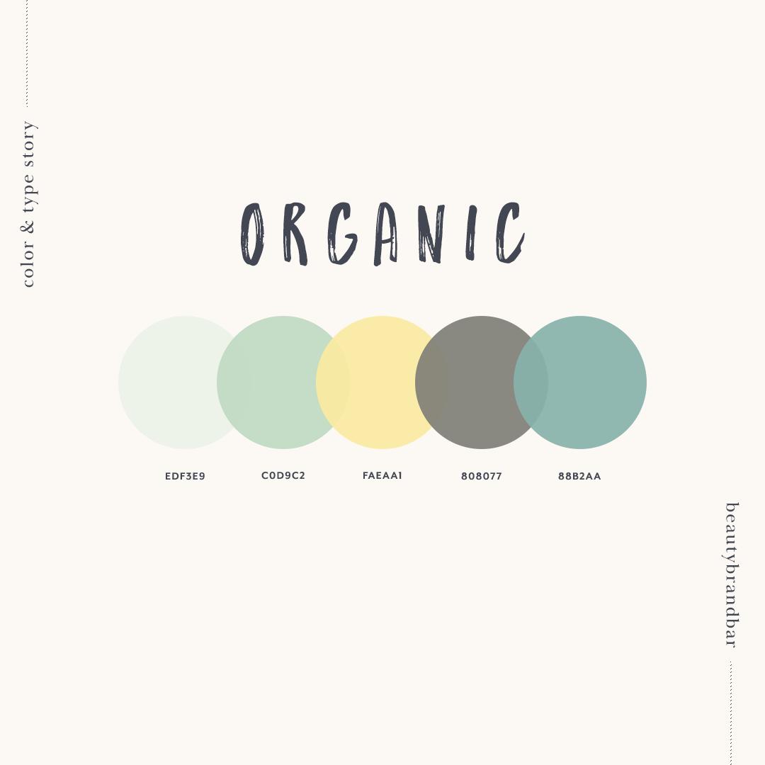 Organic Color Palette Nature Color Palette Vintage Colour Palette Hex Color Palette