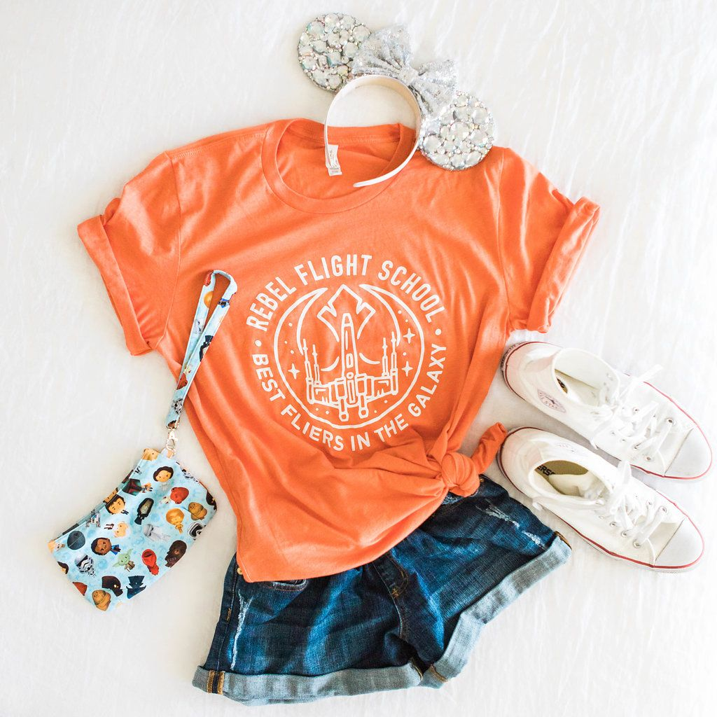 Star Wars Flight School Shirt | Cute disney outfits ...