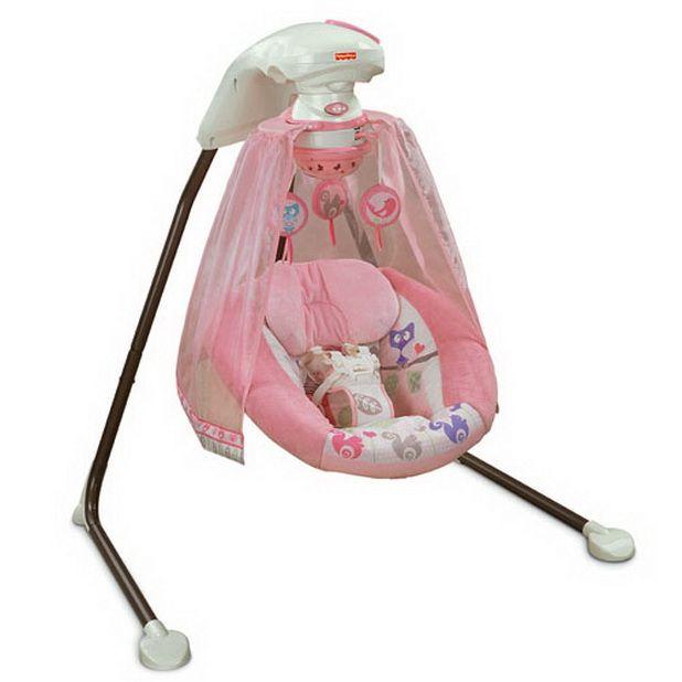 Cute and Colorful Baby Swings Baby swings, Baby