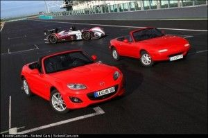 2009 Mazda MX5 to Celebrate 20 Years at Le Mans - http://sickestcars.com/2013/06/05/2009-mazda-mx5-to-celebrate-20-years-at-le-mans/
