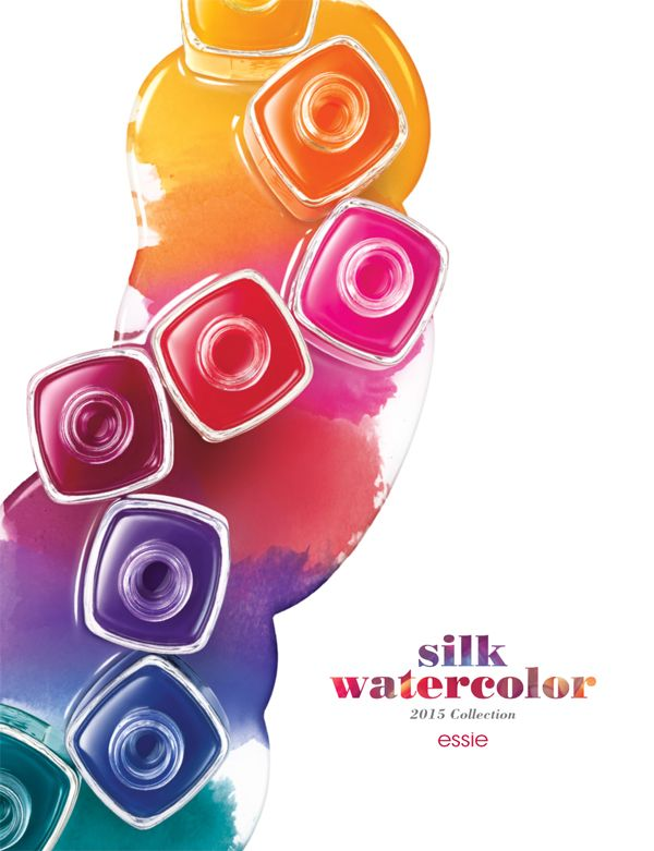 essie Silk Watercolor collection! | ChitChatNails | Nails: Favorite ...
