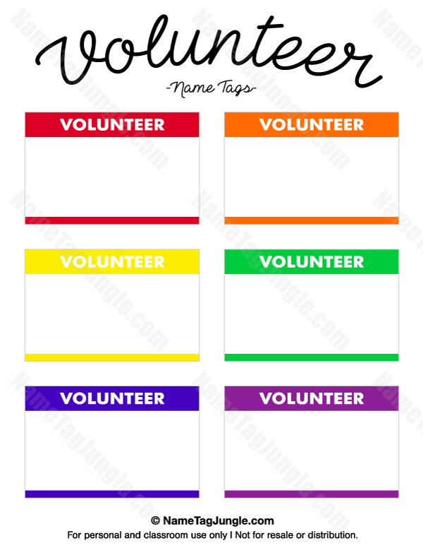 volunteer badges templates koni polycode co