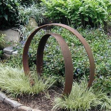 Outdoor sculptures add drama to your landscaping