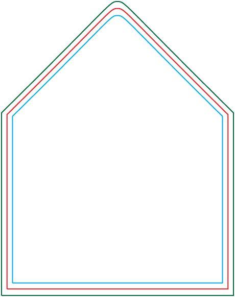 a6 envelope liner template from version 2 0 d i y wedding. Black Bedroom Furniture Sets. Home Design Ideas