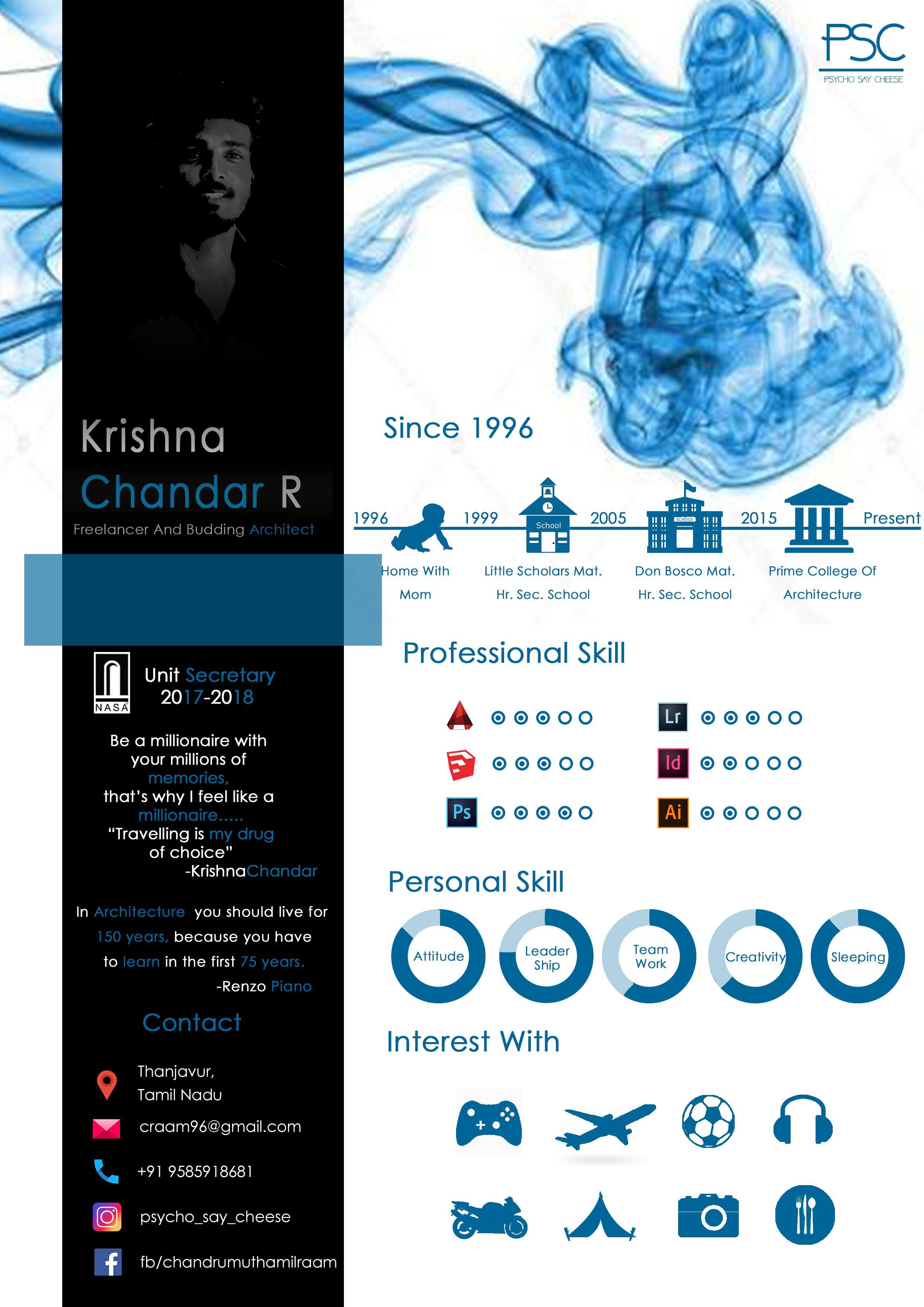 Pin By Chandru On Architecture: Architecture Resume Architecture Portfolio