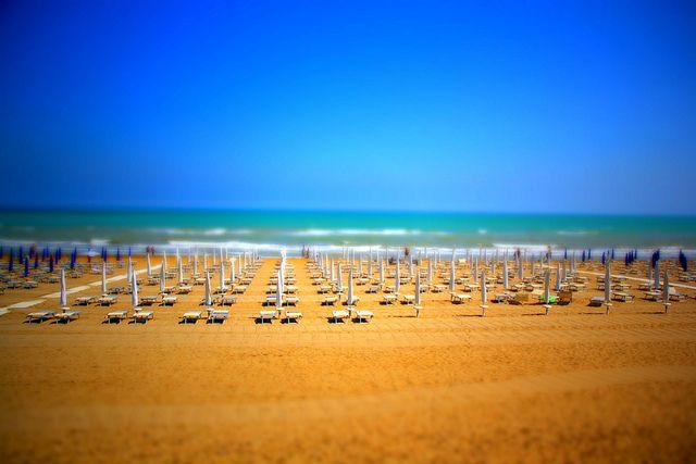 lignano strand II Urlaub, Strand, Italien