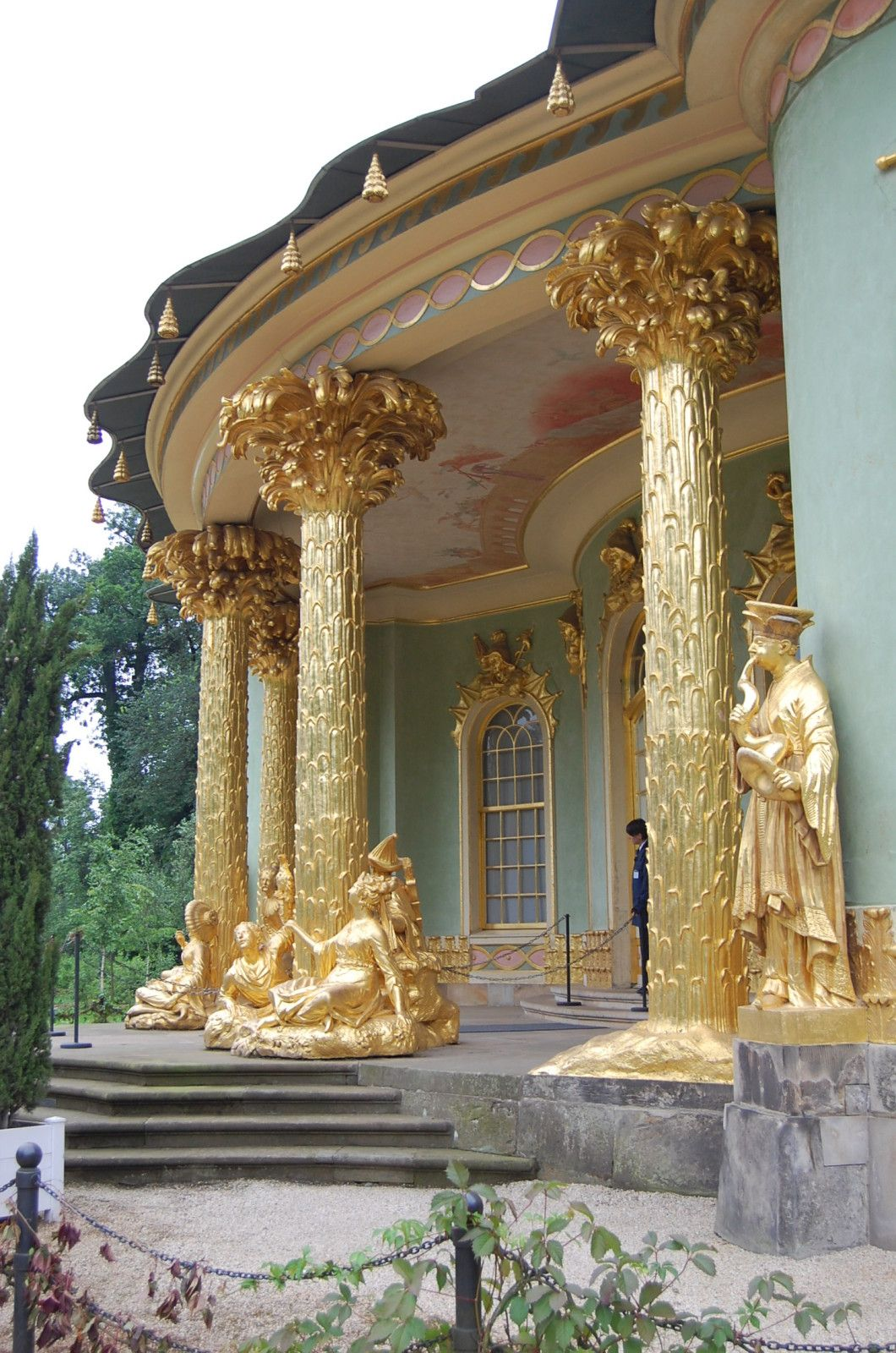 Potsdam - Le Pavillon chinois #beautifularchitecture