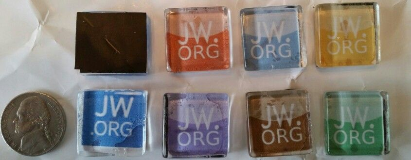 jw.org glass magnets by CLW