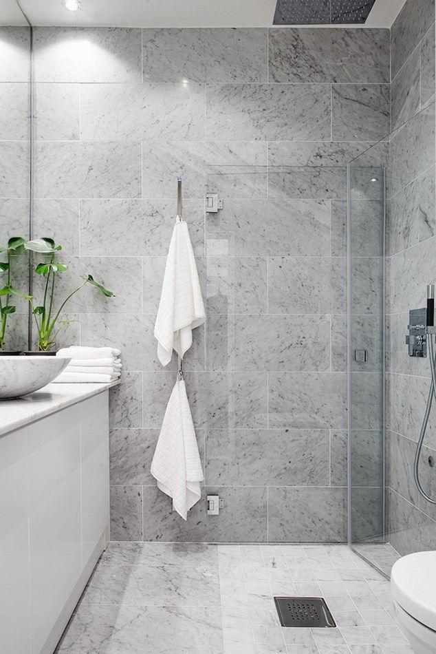Photo of Hjemmet med de hvite overflatene og de vakre marmordetaljene – ChriChri