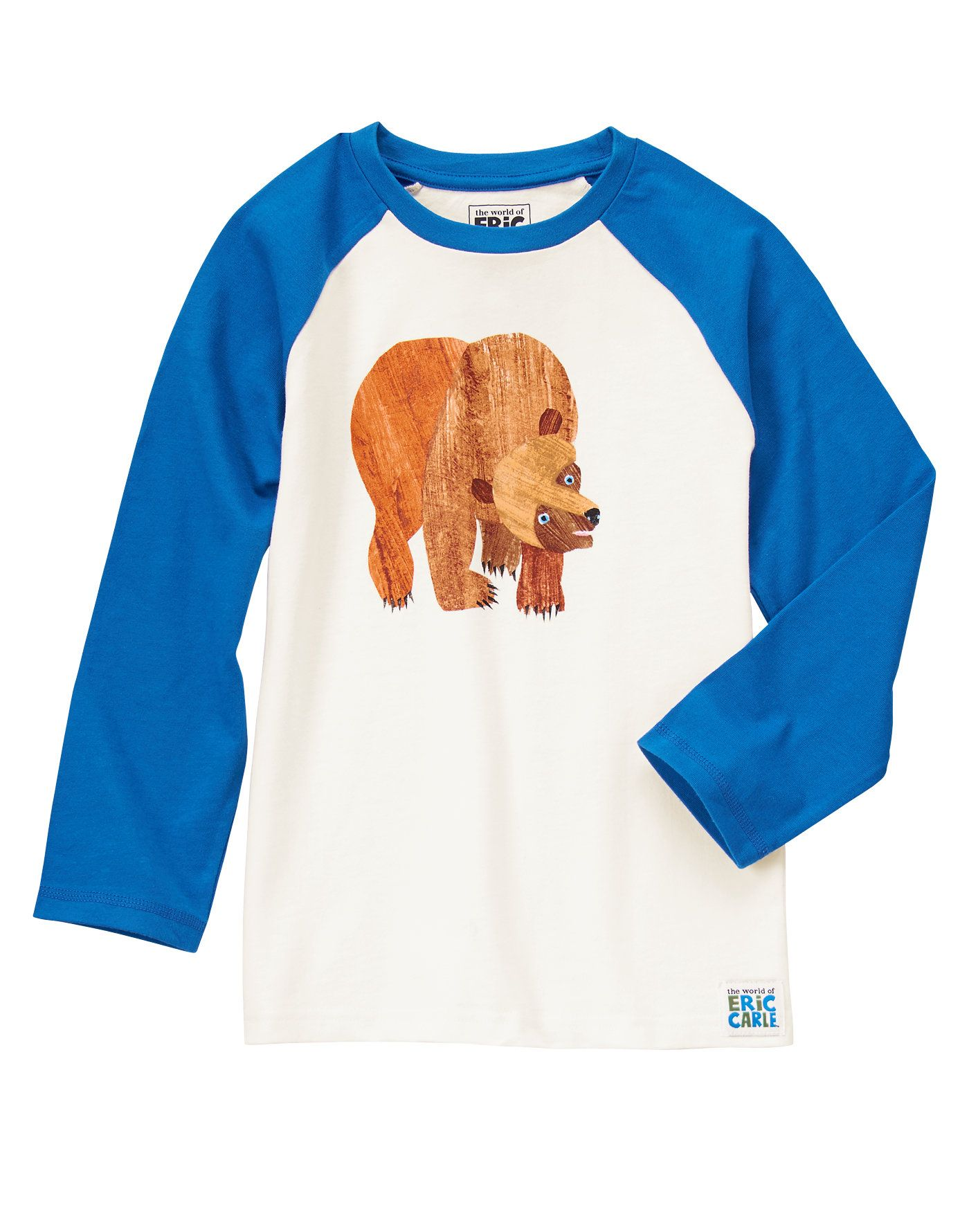 22221a664ef8 Such a great idea for a clothes line.... but not a fan of baseball tees The  World of Eric Carle™Bear Tee at Gymboree