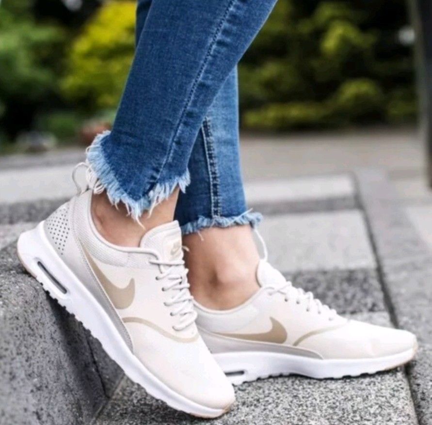 where to buy detailed images outlet on sale Nike Women's Air Max Thea Athletic Snickers Running Training Shoes ...