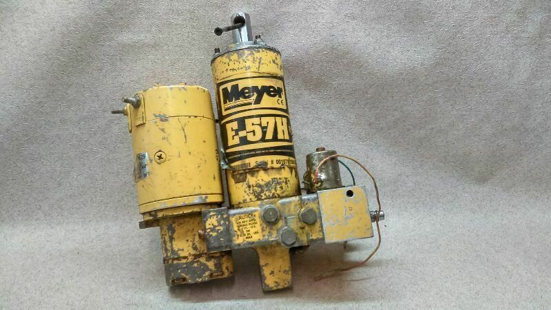 Meyer E 57h Snow Plow Pump Assembly B2 10 169610 Meyer Snow Plow Car Parts And Accessories Automotive Accessories