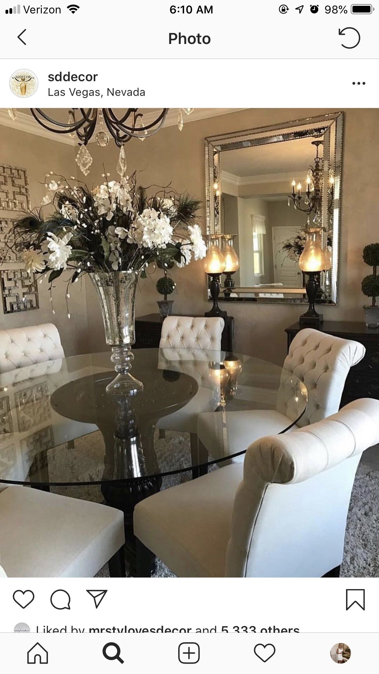 Pin By Ashley Powell On Luxurious Living Dining Room Wall Decor