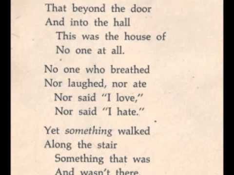 The Haunted House (Vic Crume) from The Haunted House and Other Spooky Poems  and Tales (1970) | Poetry lines, Short poems, Poems
