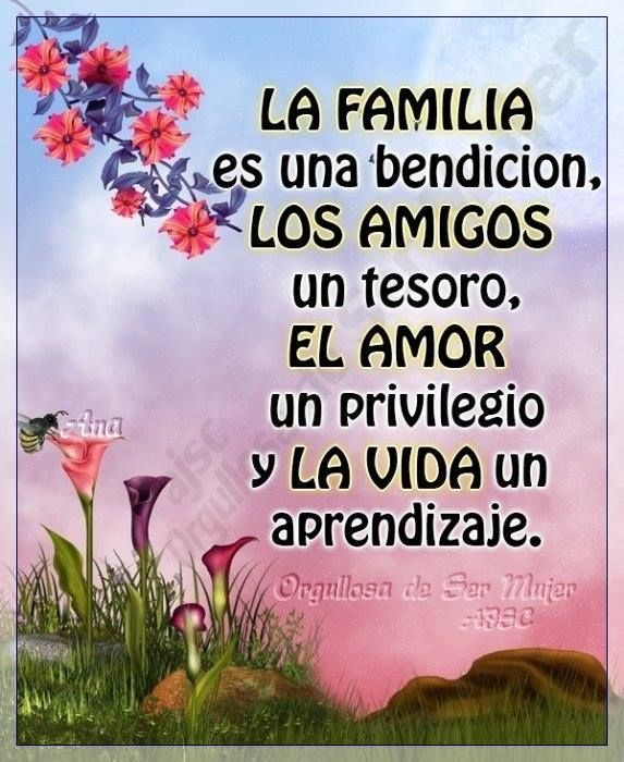 La Familia Es La Gran Obra Maestra De Dios Frases De