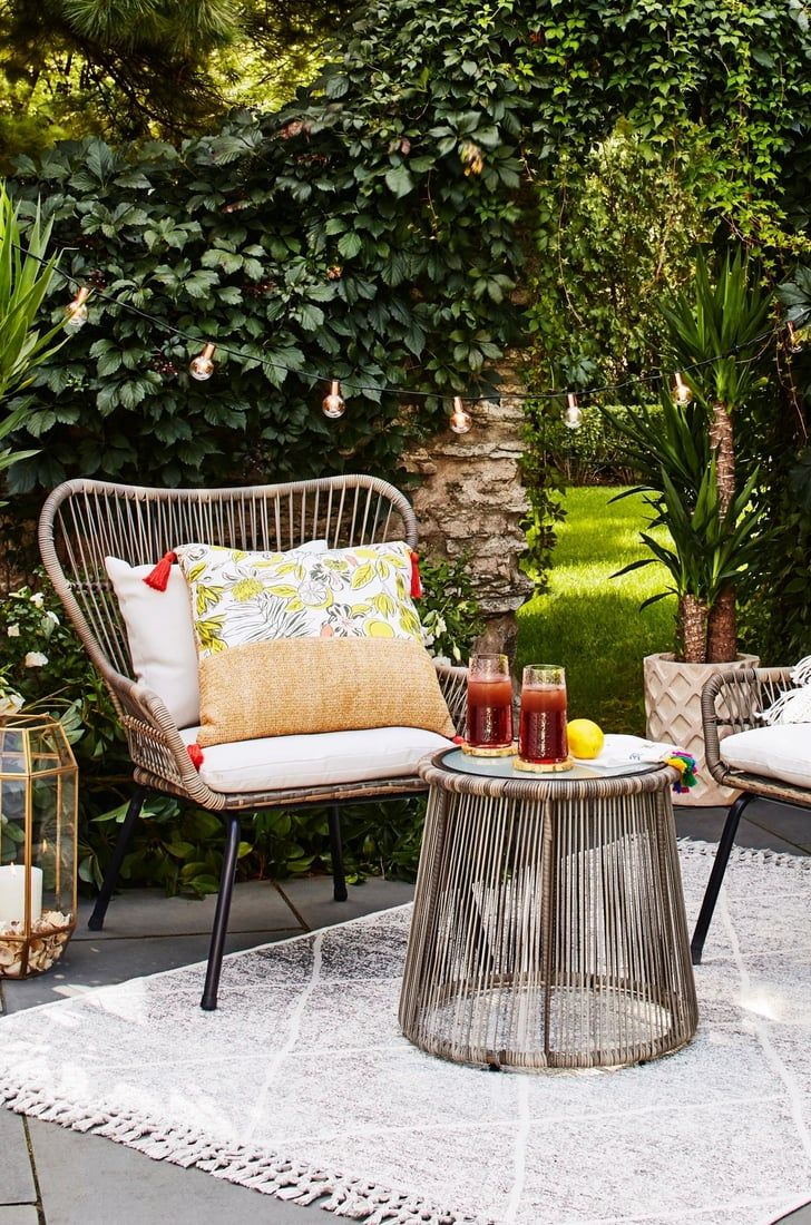 Target S Affordable Outdoor Furniture Is The Creative Solution Your Small Patio Needs In 2020 Small Outdoor Furniture Target Outdoor Furniture Affordable Outdoor Furniture