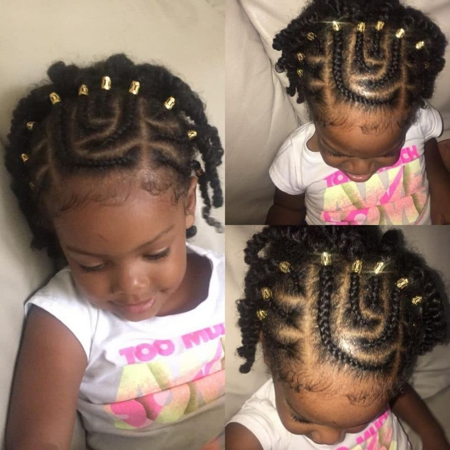Hairstyles Stinkin Cutelack Kid You Can Do At Home Throughout Toddler Ideas Pictures Black Kids Braided Hairstyles Kids Hairstyles Girls Baby Hairstyles