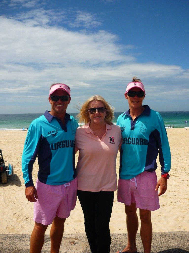Bondi Turns Pink In Support Of The Mcgrath Foundation Bondi