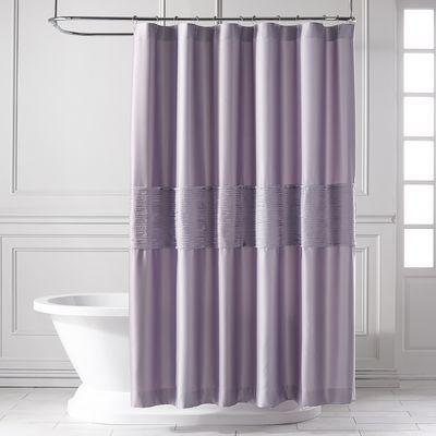 Genevieve Lilac Shower Curtain Shower Curtain Unique Shower