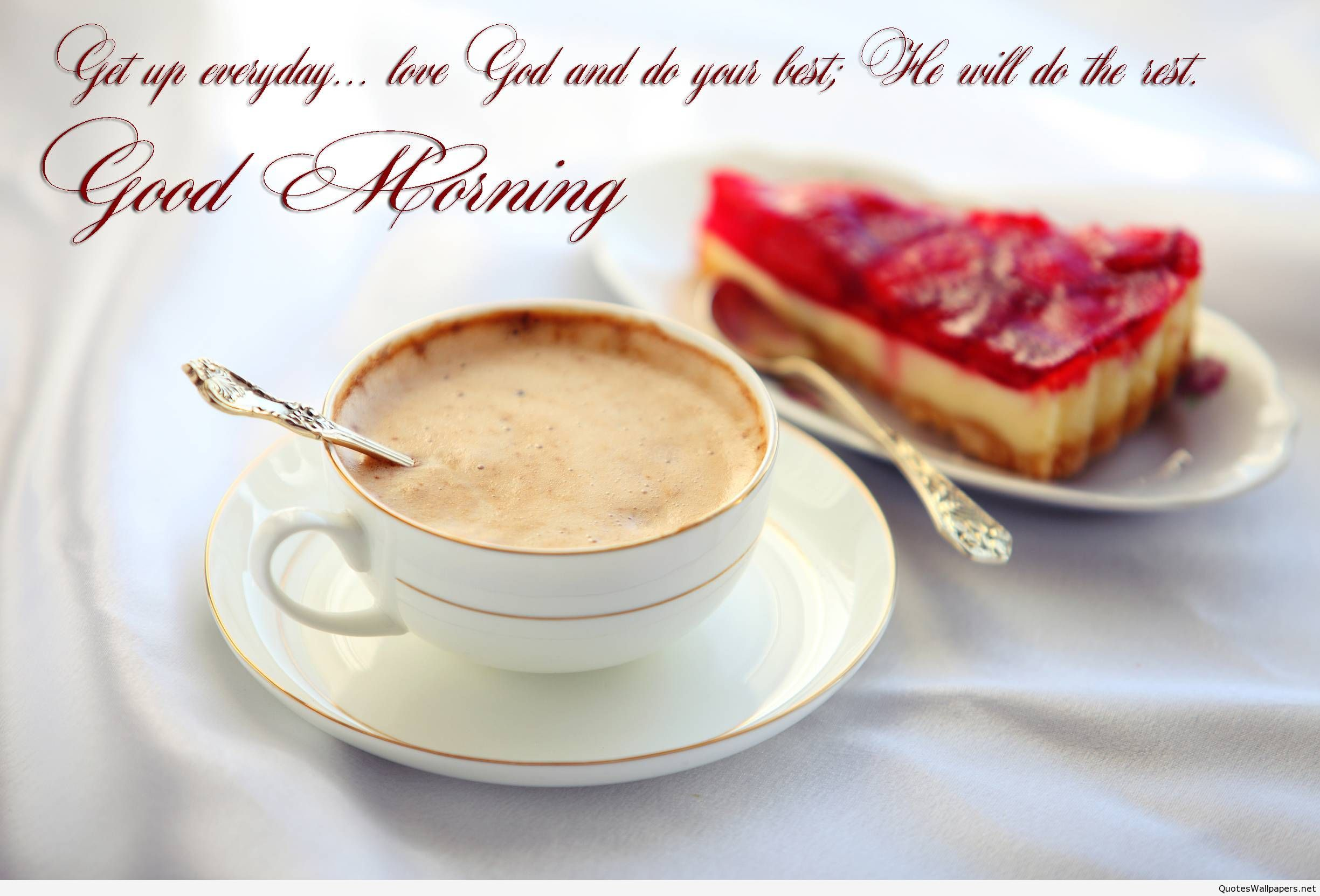 Captivating Good Morning Wishes With Red Rose HD Wallpapers Gifs