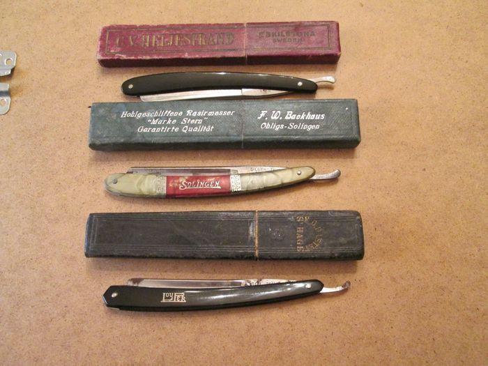 Spiksplinternieuw Online veilinghuis Catawiki: 3 stuks vintage Solingen/Loufer NT-99