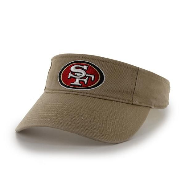 San Francisco 49ers Clean Up Visor Khaki 47 Brand Adjustable Hat Detroit Game Gear Adjustable Hat 47 Brand Philadelphia Eagles Hats