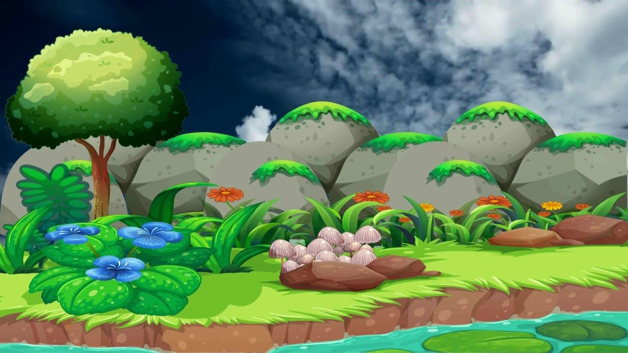 Beautiful 3d Animation With Nature Scenery 3d Background Video Effects 3d Animation 3d Background Motion Backgrounds